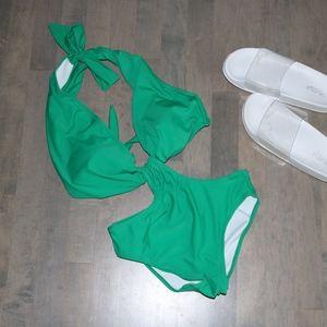 VICTORIA SECRET Monokini in Emerald Green